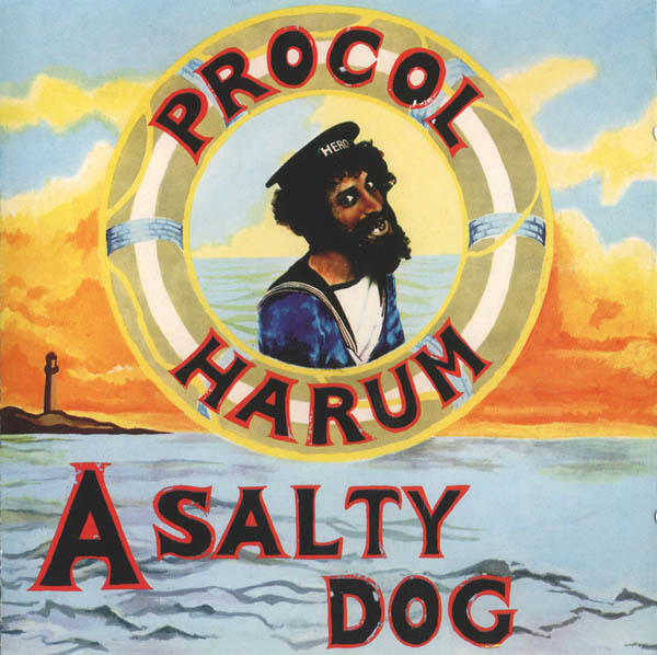 Procol Harum A Salty Dog album cover