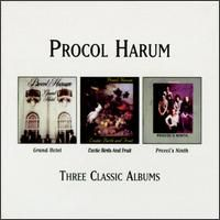 Procol Harum Three Classic Albums album cover