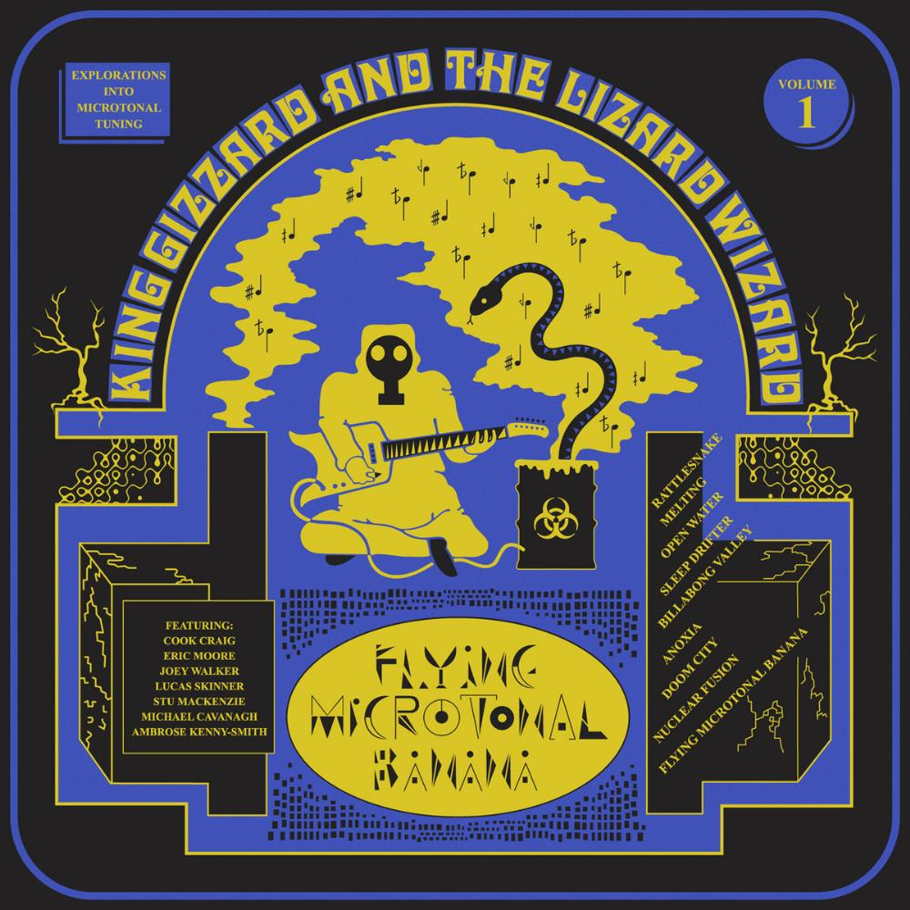 Flying Microtonal Banana by KING GIZZARD & THE LIZARD WIZARD album cover