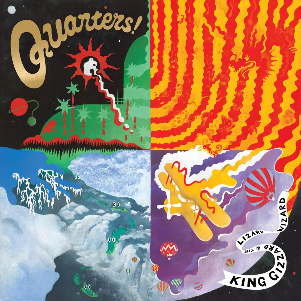 Quarters ! by KING GIZZARD & THE LIZARD WIZARD album cover
