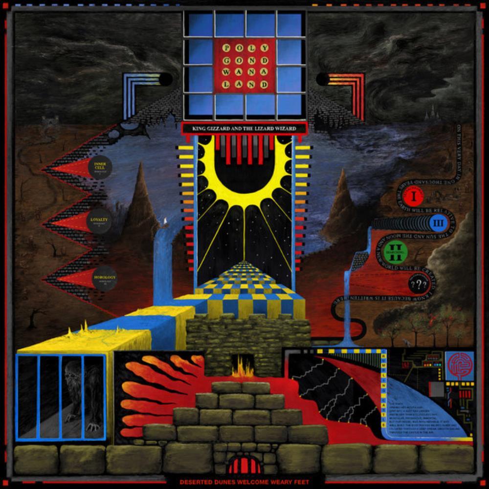 Polygondwanaland by KING GIZZARD & THE LIZARD WIZARD album cover
