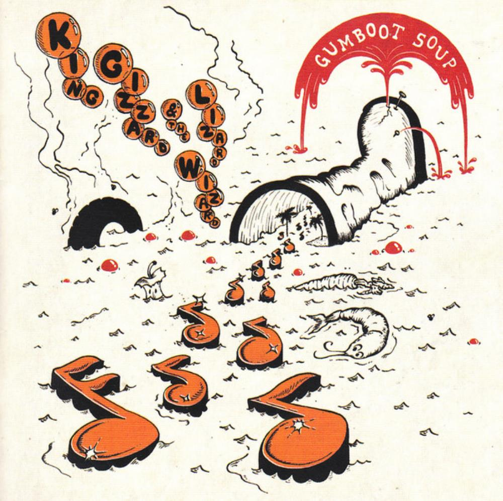 King Gizzard & The Lizard Wizard Gumboot Soup album cover