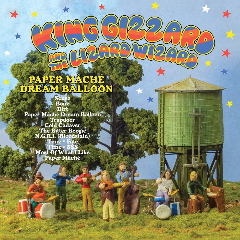 Paper Mâché Dream Balloon by KING GIZZARD & THE LIZARD WIZARD album cover