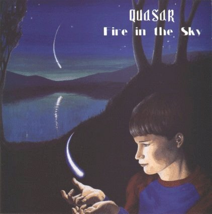 Quasar - Fire In The Sky CD (album) cover
