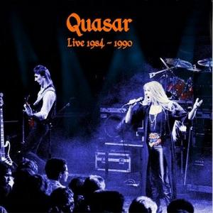 Quasar Live 1984 - 1990 by QUASAR album cover