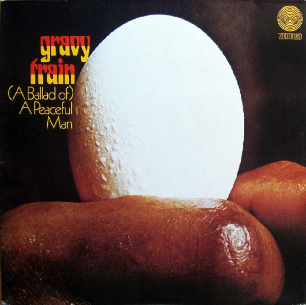 (A Ballad Of) A Peaceful Man by GRAVY TRAIN album cover
