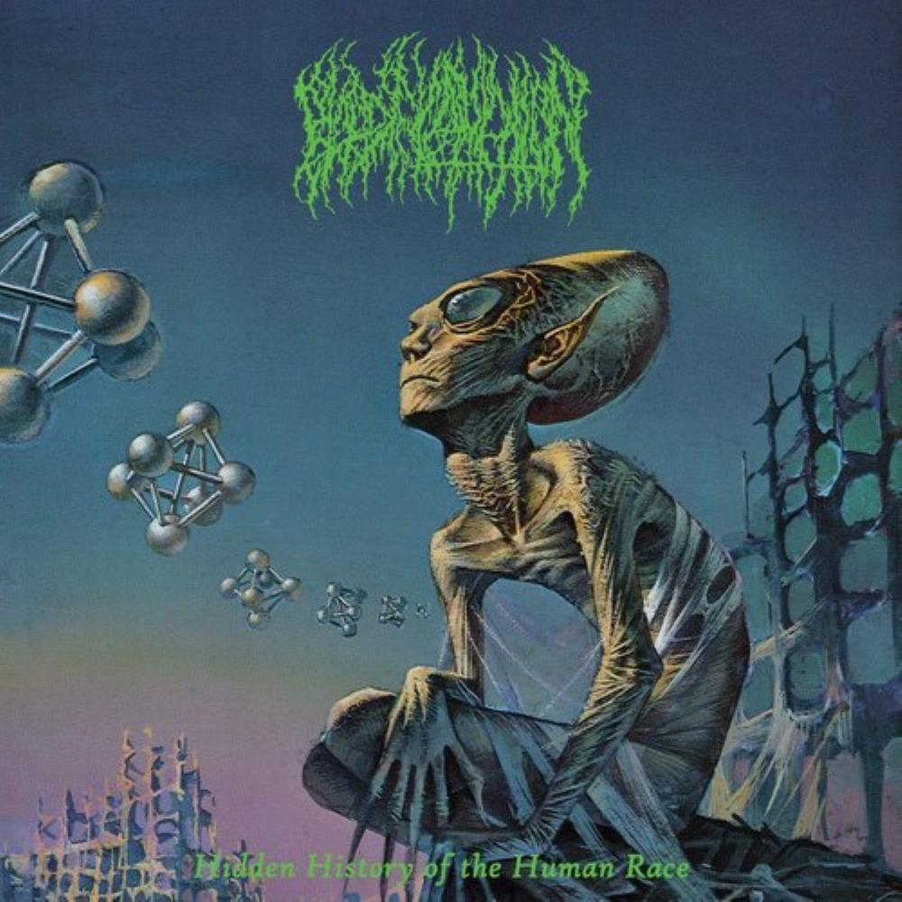 Hidden History Of The Human Race by BLOOD INCANTATION album cover