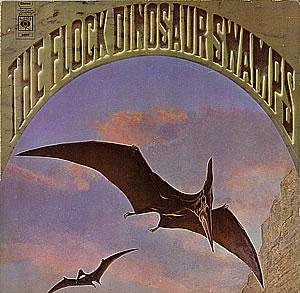 The Flock - Dinosaur Swamps CD (album) cover