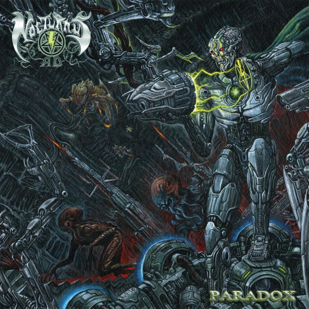 Paradox by NOCTURNUS AD album cover