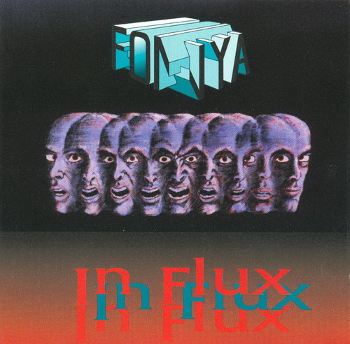 Fonya - In Flux CD (album) cover