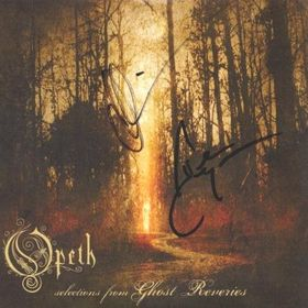 Opeth Selections From Ghost Reveries album cover