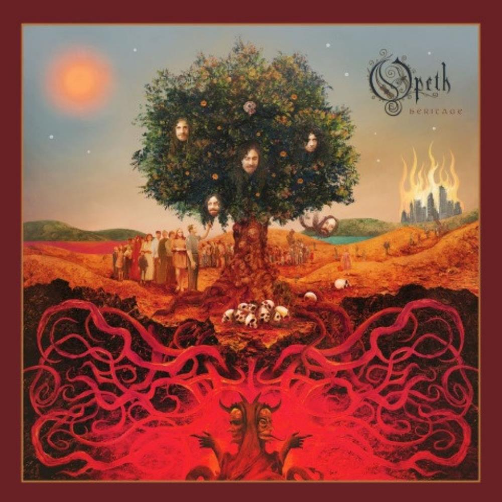 Heritage by OPETH album cover