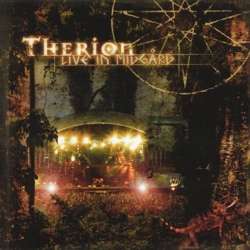 Therion - Live in Midgard CD (album) cover
