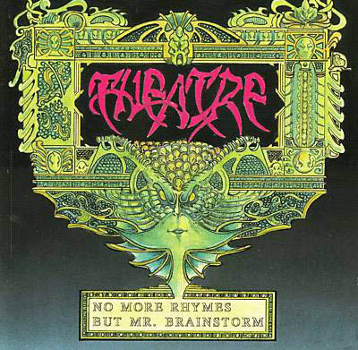 Theatre No More Rhymes But Mr. Brainstorm album cover