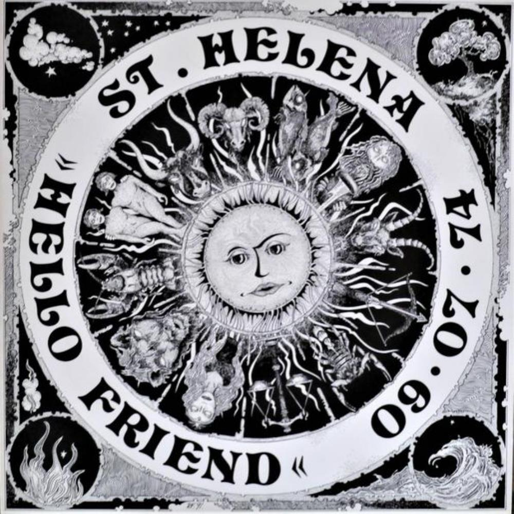 Hello Friend by ST. HELENA album cover