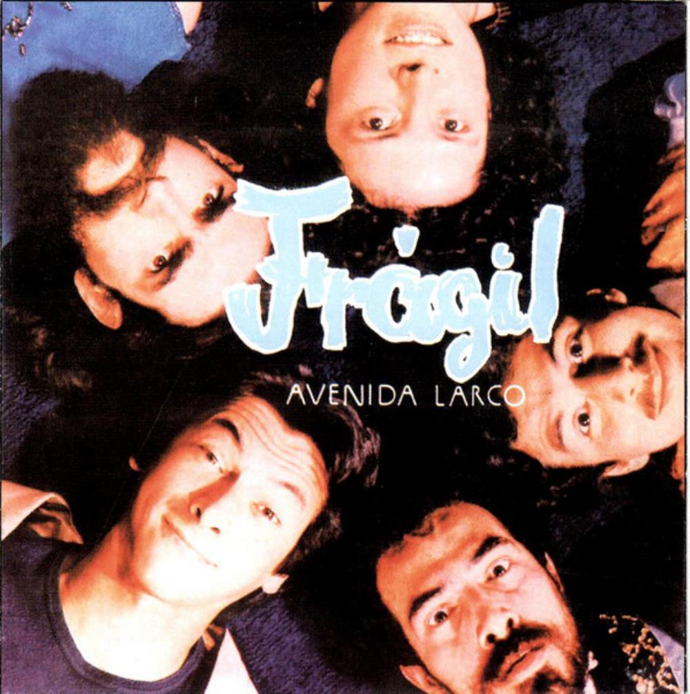 Frágil - Avenida Larco CD (album) cover