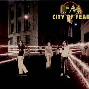FM - City of Fear CD (album) cover