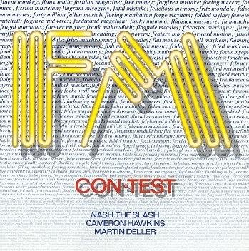 FM - Con-Test  CD (album) cover