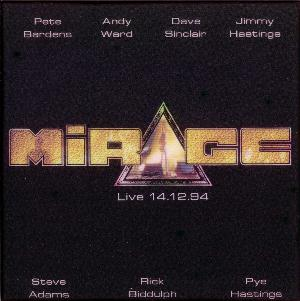 Mirage - Mirage Live 14.12.94 CD (album) cover
