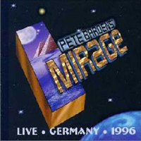 Live Germany 1996 (aka Speed Of Light - Live) by BARDENS' MIRAGE, PETER album cover