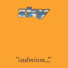 Sky - Cadmium  CD (album) cover