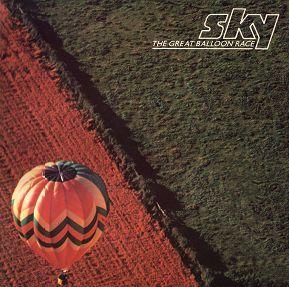 Sky - The Great Balloon Race  CD (album) cover