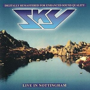 Live in Nottingham by SKY album cover