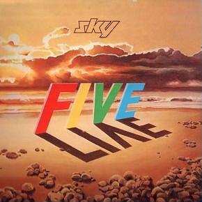 Sky 5 Live by SKY album cover