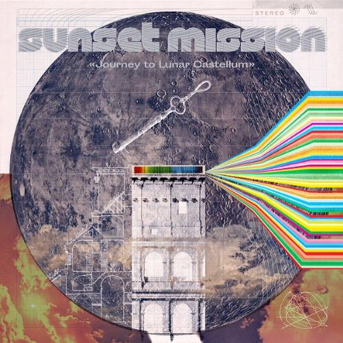 Journey To Lunar Castellum by SUNSET MISSION album cover