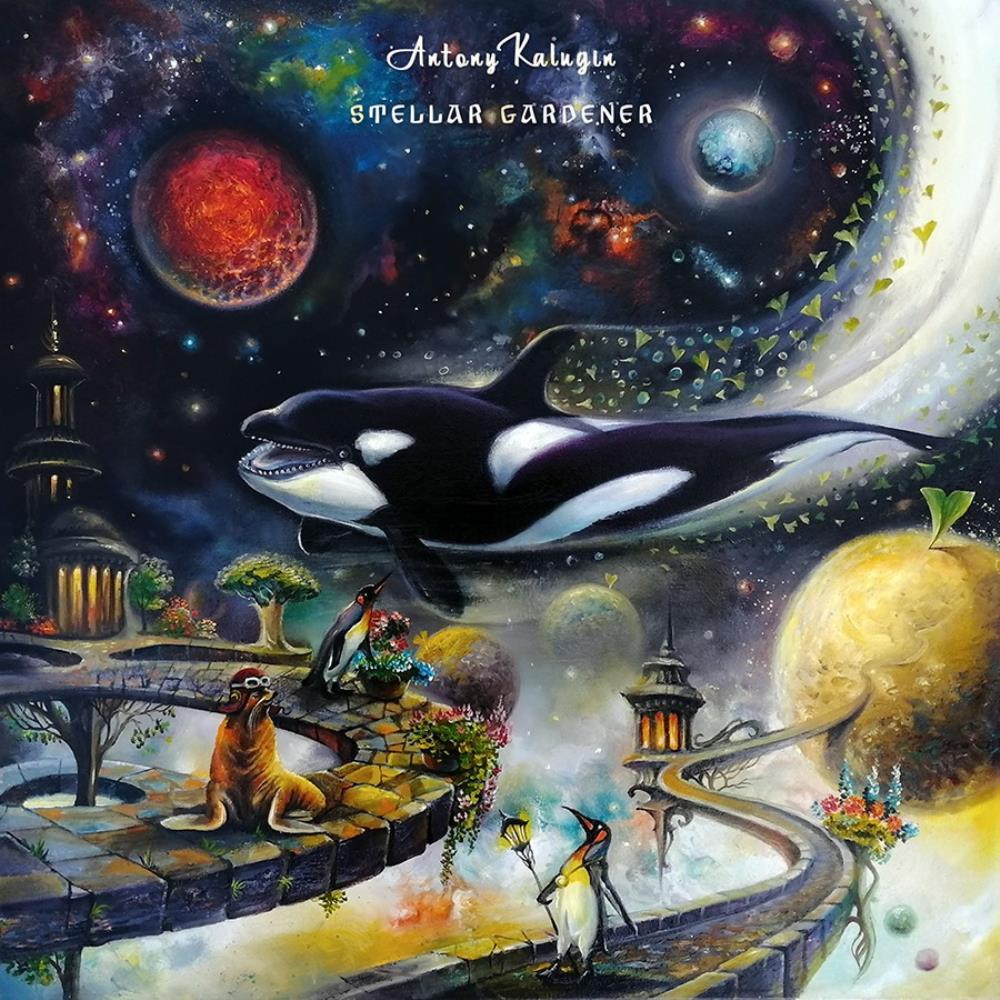 Stellar Gardener by KALUGIN, ANTONY album cover