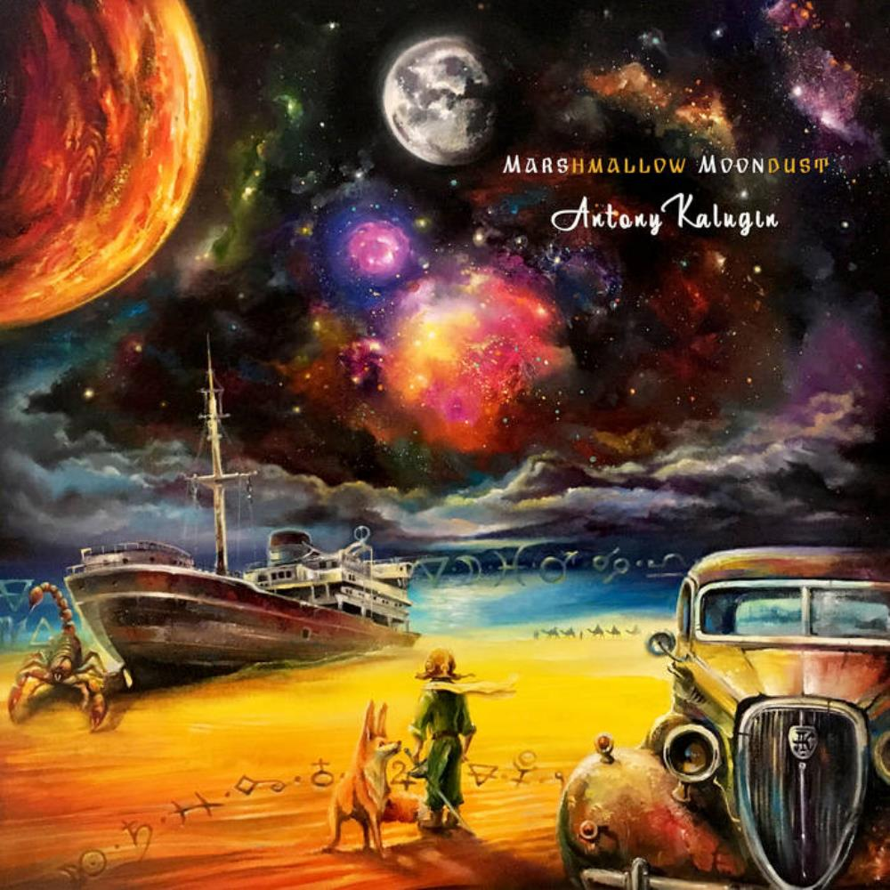 Antony Kalugin - Marshmallow Moondust CD (album) cover