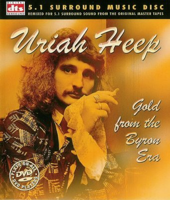 Uriah Heep Gold from the Byron Era album cover