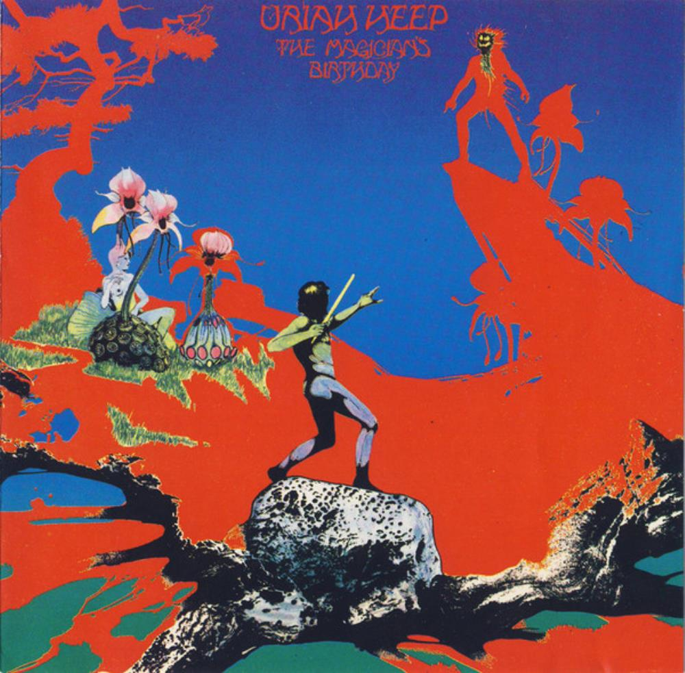 Uriah Heep - The Magician's Birthday CD (album) cover