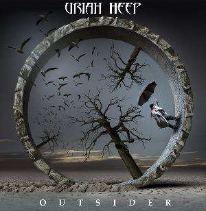 Outsider by URIAH HEEP album cover