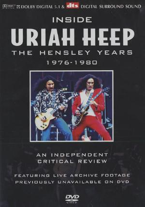 Uriah Heep Inside Uriah Heep - The Hensley Years 1976-1980 album cover