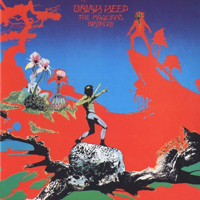 Uriah Heep The Magician's Birthday album cover