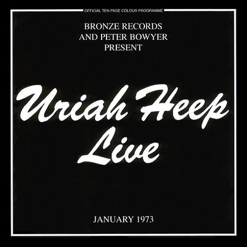 Uriah Heep Uriah Heep - Live album cover