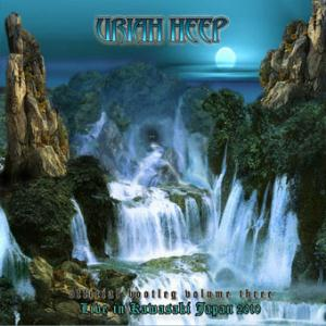 Uriah Heep - Live in Kawasaki, Japan 2010 (Official Bootleg Volume III) CD (album) cover