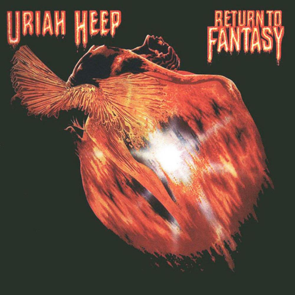 Uriah Heep Return To Fantasy album cover