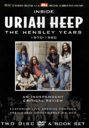 Uriah Heep - Inside Uriah Heep - The Hensley Years 1970-1980 CD (album) cover