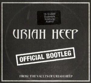 Uriah Heep Official Bootleg Salzburg 2009 album cover