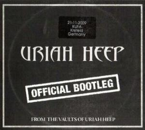Uriah Heep Official Bootleg Krefeld 2009 album cover