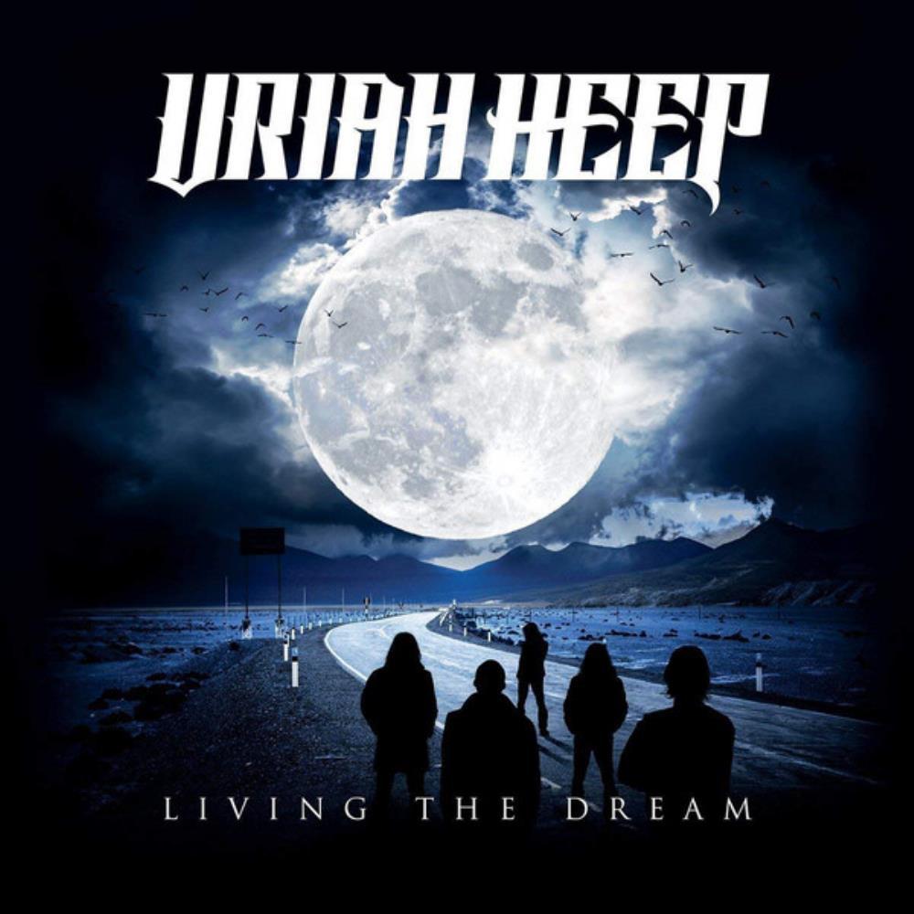 Living The Dream by URIAH HEEP album cover
