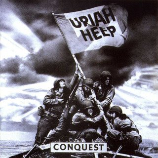 Uriah Heep - Conquest CD (album) cover