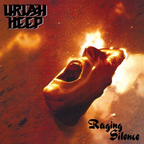 Uriah Heep Raging Silence album cover