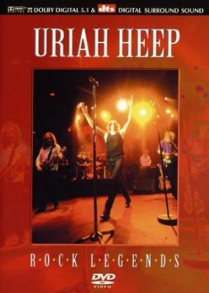 Uriah Heep Classic Rock Legends (DVD) album cover