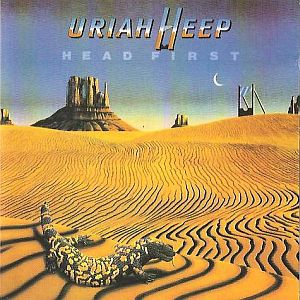 Uriah Heep - Head First CD (album) cover