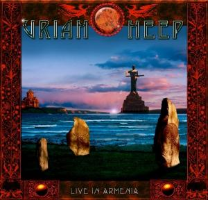 Uriah Heep Live In Armenia album cover
