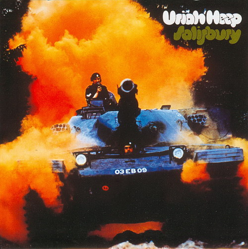 Uriah Heep - Salisbury CD (album) cover