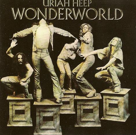 Uriah Heep - Wonderworld CD (album) cover